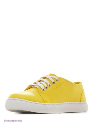 Кеды Vitacci. Цвет: желтый