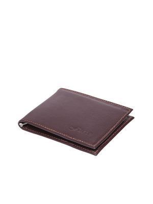 Зажим для денег Forte. Цвет: коричневый