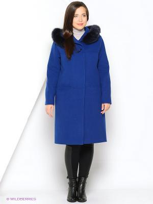 Пальто FORTUNA. Цвет: индиго