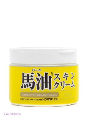 Крем для тела увлажняющий с лошадиным маслом Roland 220 мл. Цвет: прозрачный