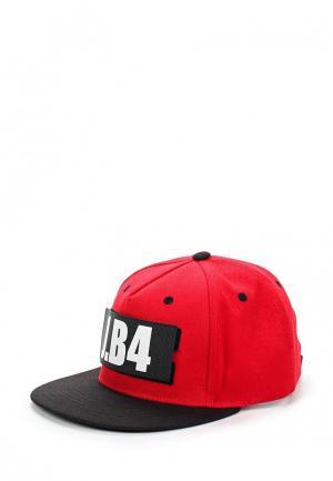 Бейсболка J.B4. Цвет: красный