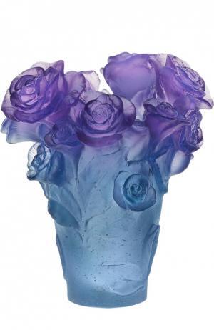 Ваза Rose Passion Daum. Цвет: бесцветный