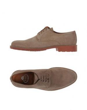 Обувь на шнурках BRAWN'S. Цвет: голубиный серый