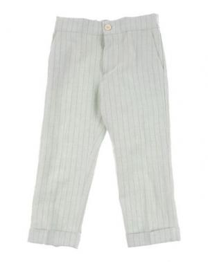 Повседневные брюки LA STUPENDERIA. Цвет: светло-зеленый