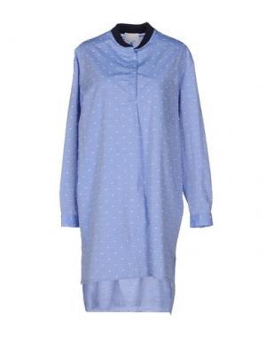 Платье до колена GUYA G.. Цвет: небесно-голубой