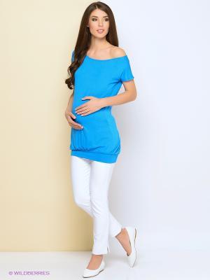 Туника Trendy Tummy. Цвет: голубой