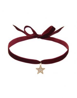 Ожерелье TAOLEI. Цвет: красно-коричневый