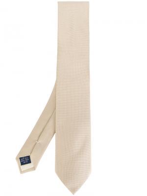 Классический галстук Fashion Clinic Timeless. Цвет: телесный