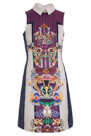 Платье Mary Katrantzou. Цвет: бордовый