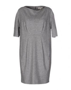 Короткое платье ANTONELLI. Цвет: серый