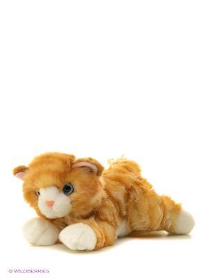Игрушка мягкая Котик рыжий 22см AURORA. Цвет: оранжевый