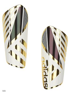Щитки GHOST PRO  WHITE/CBLACK/GOLDMT Adidas. Цвет: белый, черный, золотистый