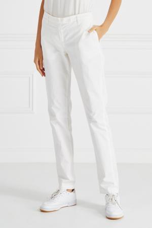 Комбинированные брюки Novemb3R. Цвет: белый