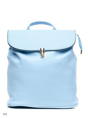 Рюкзак-сумка Sofiya. Цвет: голубой
