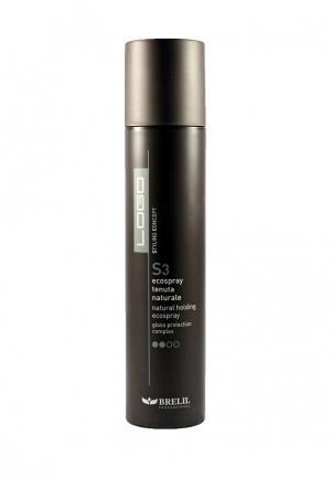 Спрей для волос моделирующий Brelil Professional. Цвет: черный