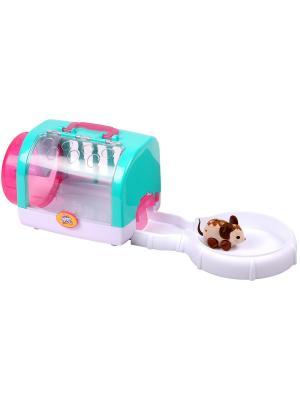 Мышка с домиком Choc Bop Moose. Цвет: бежевый