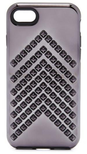 7 Чехол для iPhone с заклепками Шеврон Rebecca Minkoff