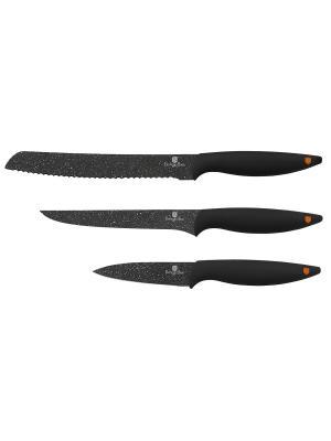 Набор ножей, 3 предмета BERLINGERHAUS. Цвет: черный