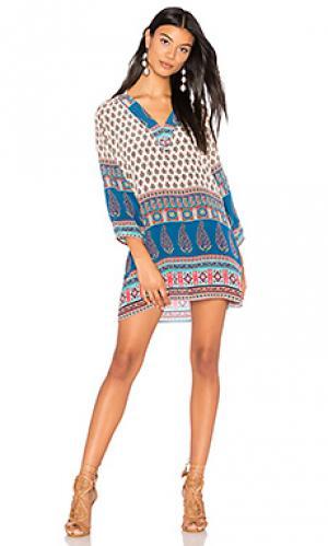 Мини платье nisha Tolani. Цвет: белый