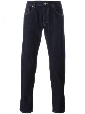 Классические джинсы прямого кроя Pt05. Цвет: синий
