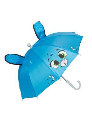 Зонт ZONT-MOUSE Mitya Veselkov. Цвет: синий, белый