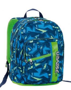Рюкзаки и сумки на пояс SEVEN. Цвет: лазурный