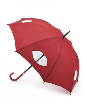 Зонт-трость Губы  by Fulton Lulu Guinness. Цвет: без цвета