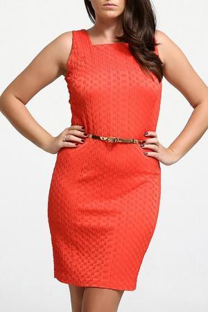 Платье CLAUDIA MILLEN. Цвет: красный