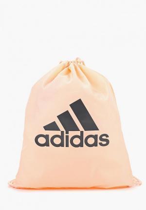 Мешок adidas. Цвет: розовый