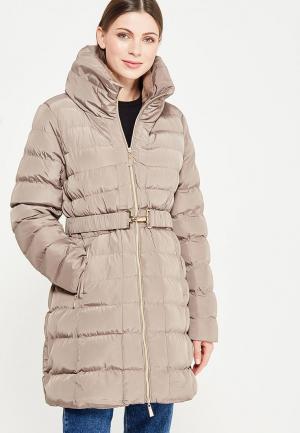 Куртка утепленная Adrixx. Цвет: бежевый