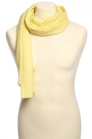 Палантин F.FRANTELLI. Цвет: лимонный
