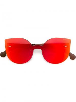 Солнцезащитные очки Tuttolente Lucia Retrosuperfuture. Цвет: красный