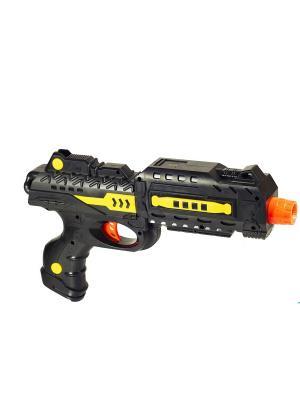 Игрушечный пистолет Атака DREAM MAKERS. Цвет: черный