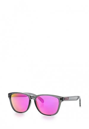 Очки солнцезащитные Roxy. Цвет: черный
