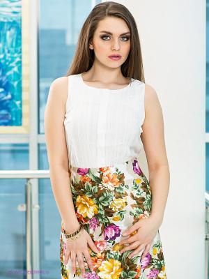 Блузка LE MONIQUE. Цвет: молочный