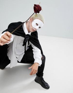 Palmer Agencies Белая маска на половину лица. Цвет: мульти