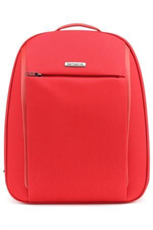 Компьютерная сумка Samsonite. Цвет: красный