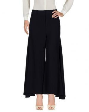 Повседневные брюки PETER PILOTTO. Цвет: темно-синий