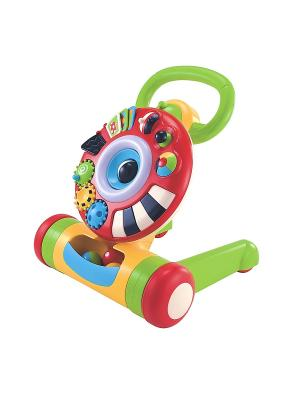 Машинка-ходунок ELC. Цвет: красный, желтый, зеленый