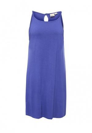 Платье Roxy. Цвет: синий