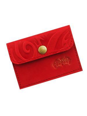 Монетница Кажан. Цвет: красный