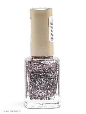 Лак для ногтей Crystal glow nail enamel, тон 828 GA-DE. Цвет: зеленый, лиловый, фиолетовый