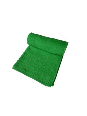 Полотенце махровое ARLONI. Цвет: зеленый