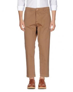 Повседневные брюки IMB I'M BRIAN. Цвет: коричневый