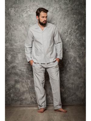 Пижама Sis. Цвет: серый меланж