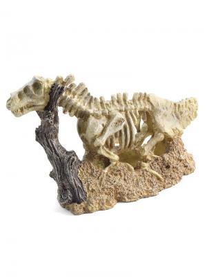 Грот Скелет динозавра 255*100*165мм. LAGUNA. Цвет: светло-коричневый