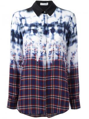 Рубашка в клетку Altuzarra. Цвет: многоцветный