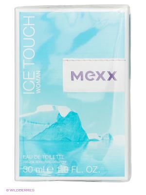 Туалетная вода MEXX. Цвет: голубой
