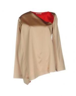 Блузка THOMAS TAIT. Цвет: песочный
