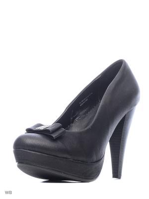 Туфли Carla Verotti. Цвет: черный